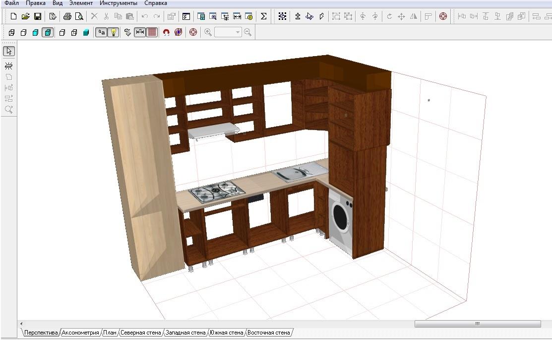 программа для постройки мебели