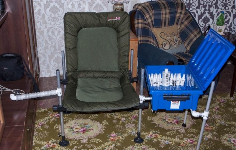 Самодельные стулья для рыбалки